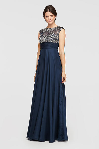 Navy Dress Mother Bride
