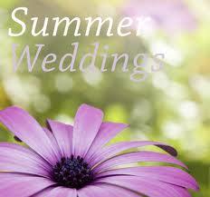 Tips for Summer Weddings