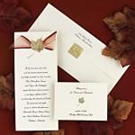 Wedding invitations are crucial