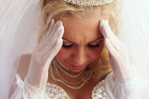 Bride Stress